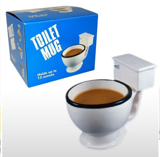 coffee toilet mug holiday gift
