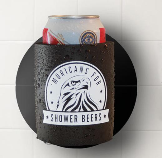 beer koozie holiday gift