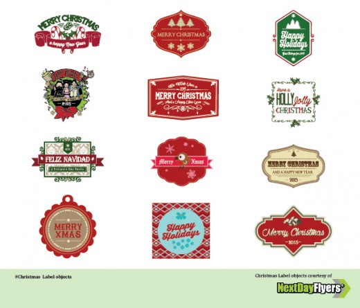 christmas-labels-vector-pack