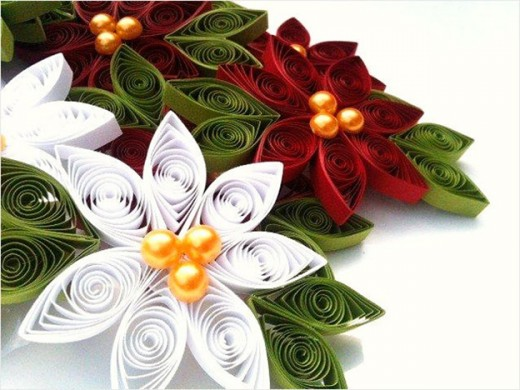 exquisite hand made holiday decoration