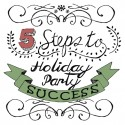 holiday party planning infographic