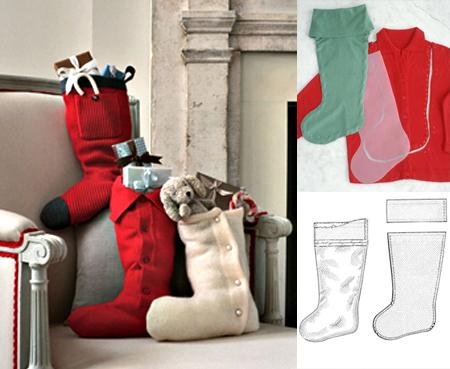 best holiday stocking homemade