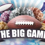 FREE! Photoshop and Illustrator Flyer Templates for the BIG Football Game!