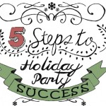 How to Host a Successful Party – 5  Step Party Planning (infographic)