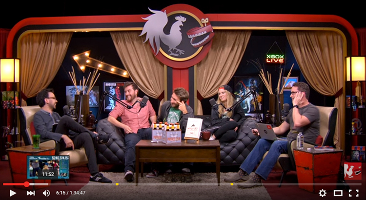 screenshot rooster teeth podcast