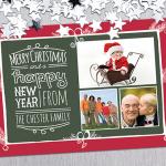 Photo Christmas Card Templates & Seasonal  Designs for Photoshop & Illlustrator
