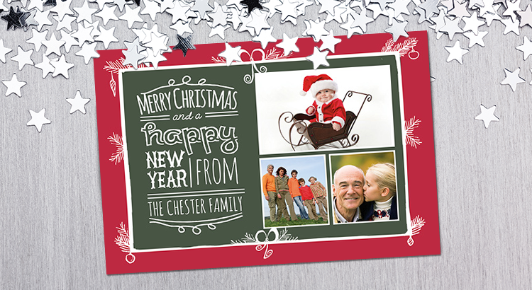 Free Christmas Card Templates.Download Free Photo Christmas Card Templates