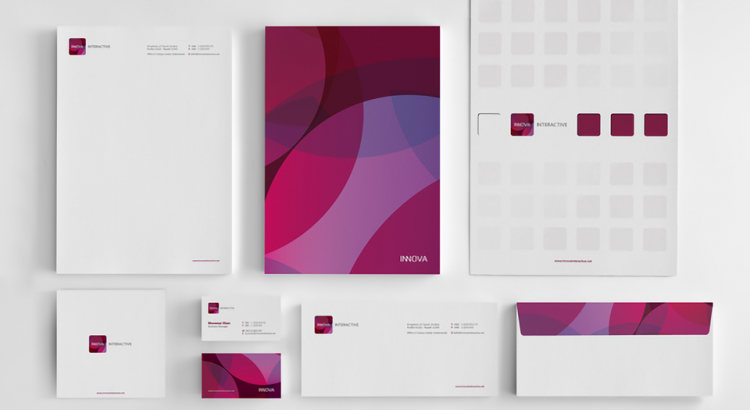 Corporate stationery from Innova Interactive
