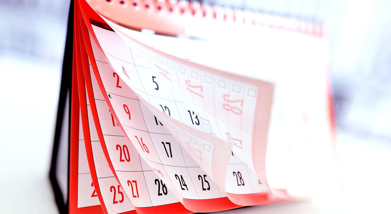 Business Calendar Printing