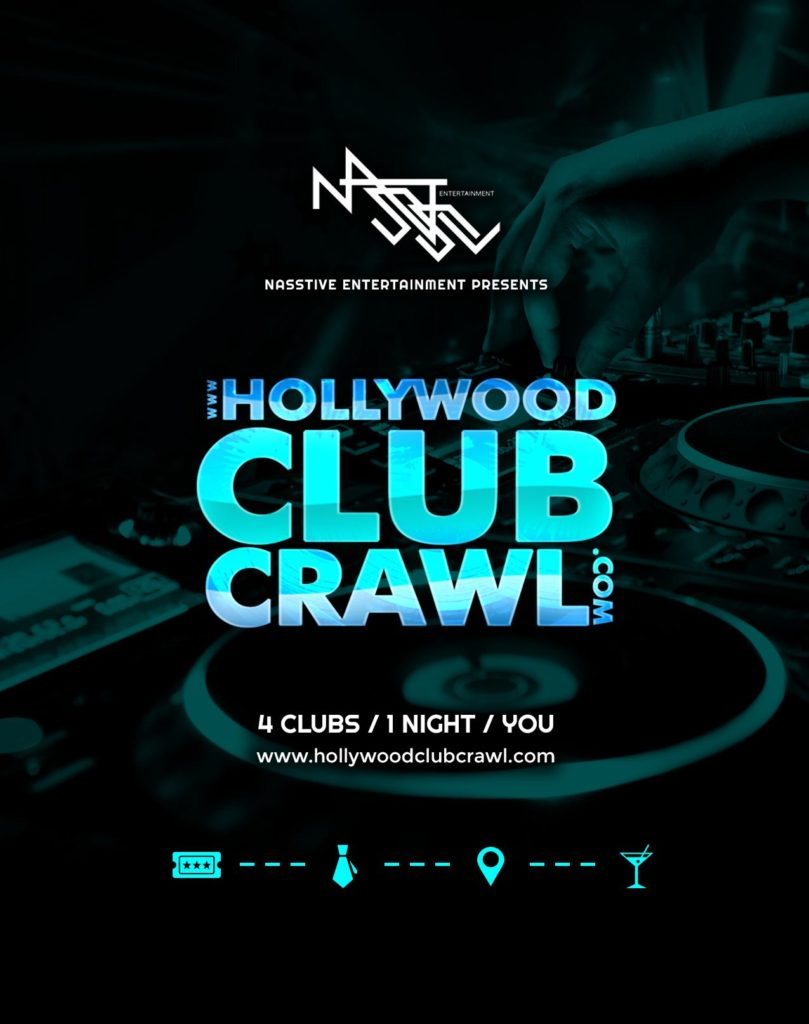 Promoting the Hollywood Club Crawl With Club Flyers