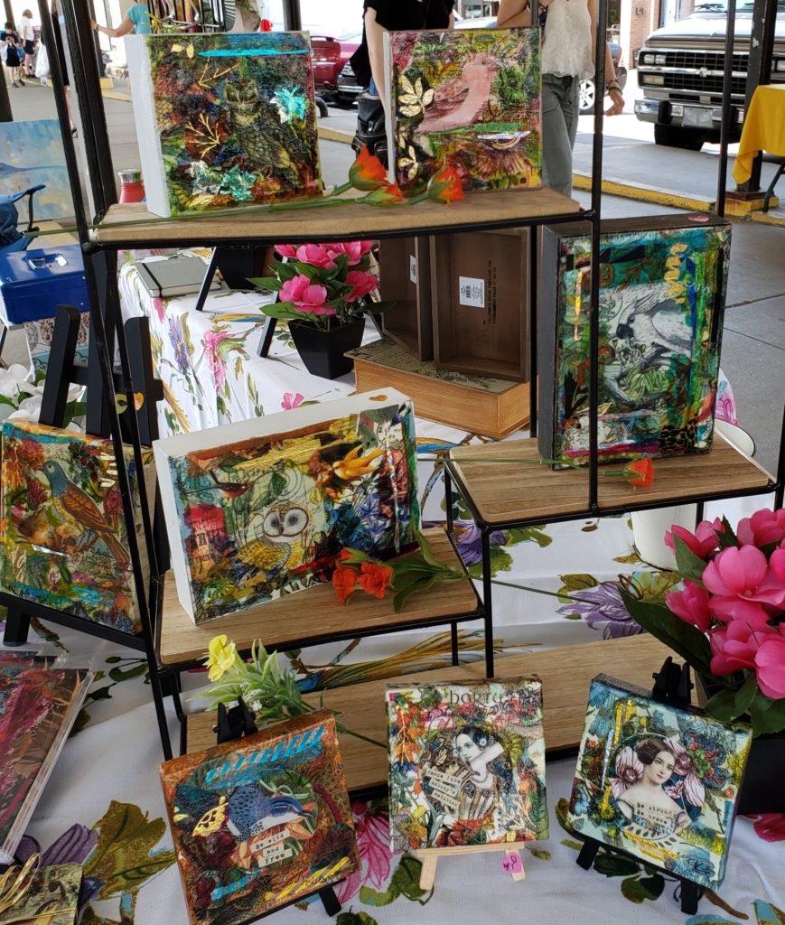 Wise Owl Artworks Art Booth