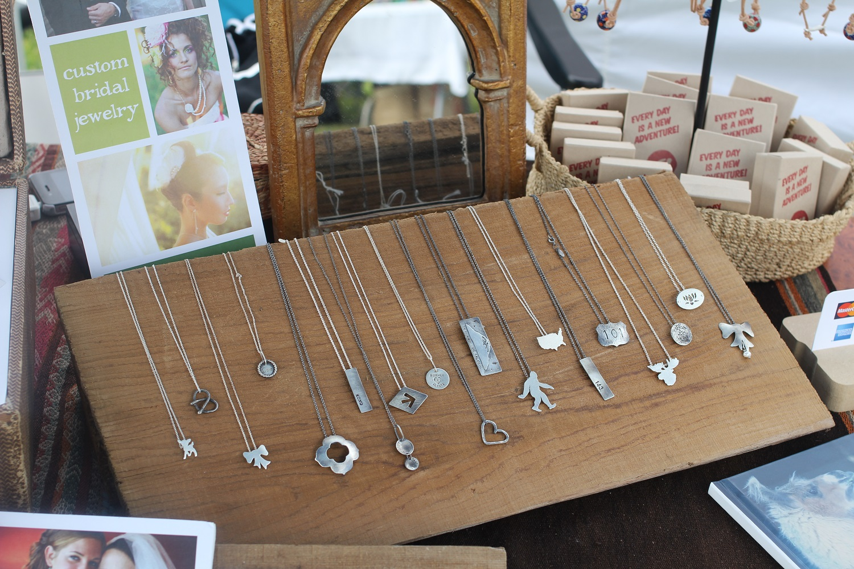 handmade metal necklace jewelry
