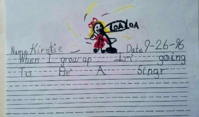 kirstie kraus childhood drawing